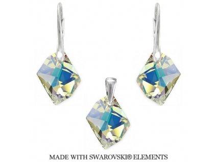 Swarovski Elements set Cosmic Crystal AB 20 mm