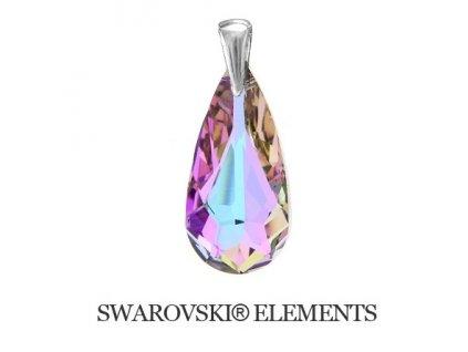 Swarovski-fialovy-privesok-slza-kvapka-striebro