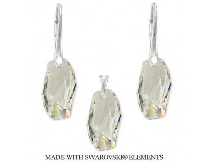 Set METEOR Swarovski Elements Crystal