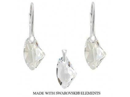 Set s kryštálmi Swarovski® GALACTIC Crystal 19 mm