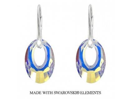 Náušnice Helios Swarovski Elements AB