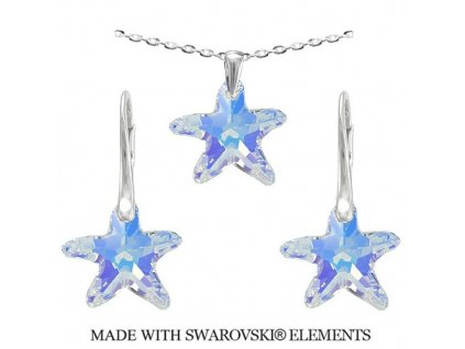 Swarovski-set-morske-hviezdy-ab-duhove-s-retiazkou