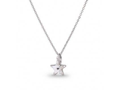 Náhrdelník Swarovski Elements STAR Crystal 10 mm