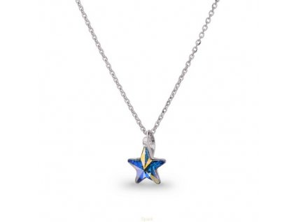 Náhrdelník Swarovski Elements STAR AB 10 mm
