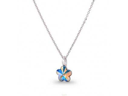 Náhrdelník Flower s kryštálom Swarovski Elements AB