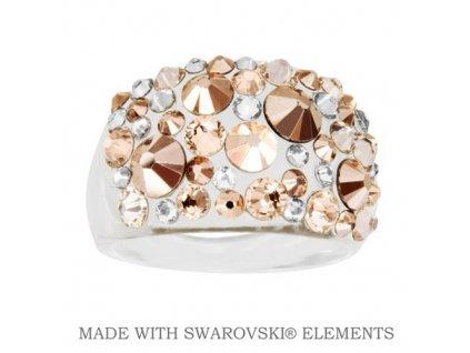 SWAROVSKI-prsten-zlaty-damsky-golden-plastovy