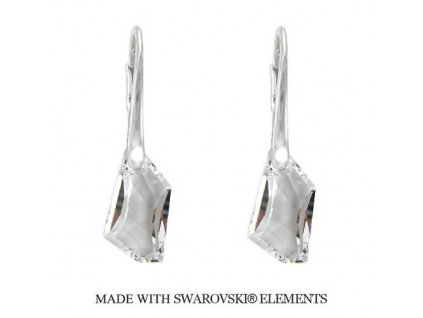 Náušnice DE-ART s kryštálmi Swarovski Elements Crystal