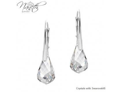 nausnice-swarovski-biele-zo-striebra-helix-crystal
