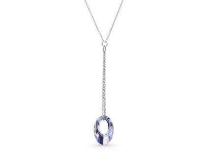 Náhrdelník Elipse s kryštálmi Swarovski Elements Crystal