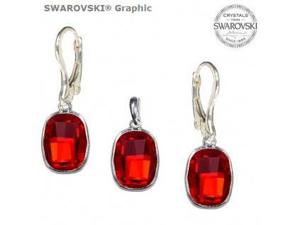 Set s kryštálmi Swarovski®Crystals GRAPHIC Light Siam