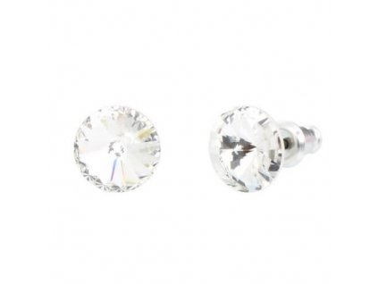 Náušnice Naneth s kryštálmi Rivoli Swarovski Crystals Crystal 8 mm