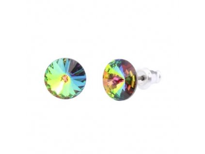 Náušnice Naneth s kryštálmi Rivoli Swarovski Crystals VM 8 mm