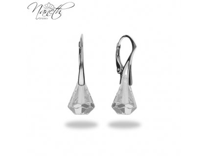 Náušnice Naneth s kryštálmi Swarovski®Crystals Xirius Crystal 14 mm