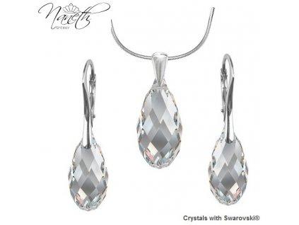 Súprava BRIOLETTE s kryštálmi Swarovski Elements Crystal 17/21 mm