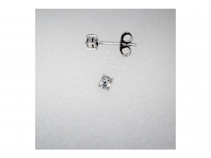 Náušnice diamant
