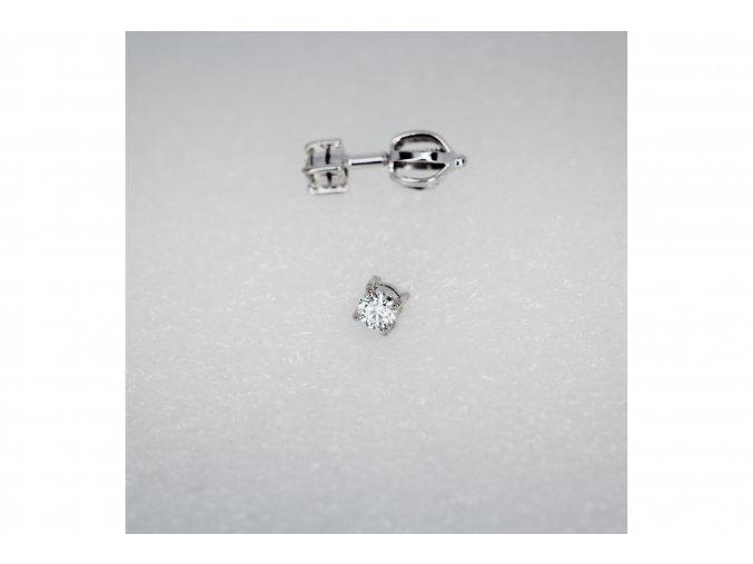 Náušnice diamanty