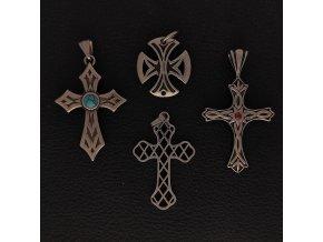 Kříže - Přívěsek z chirurgické nerez oceli 316L