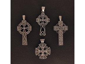 Keltské kříže - Přívěsek z chirurgické nerez oceli 316L