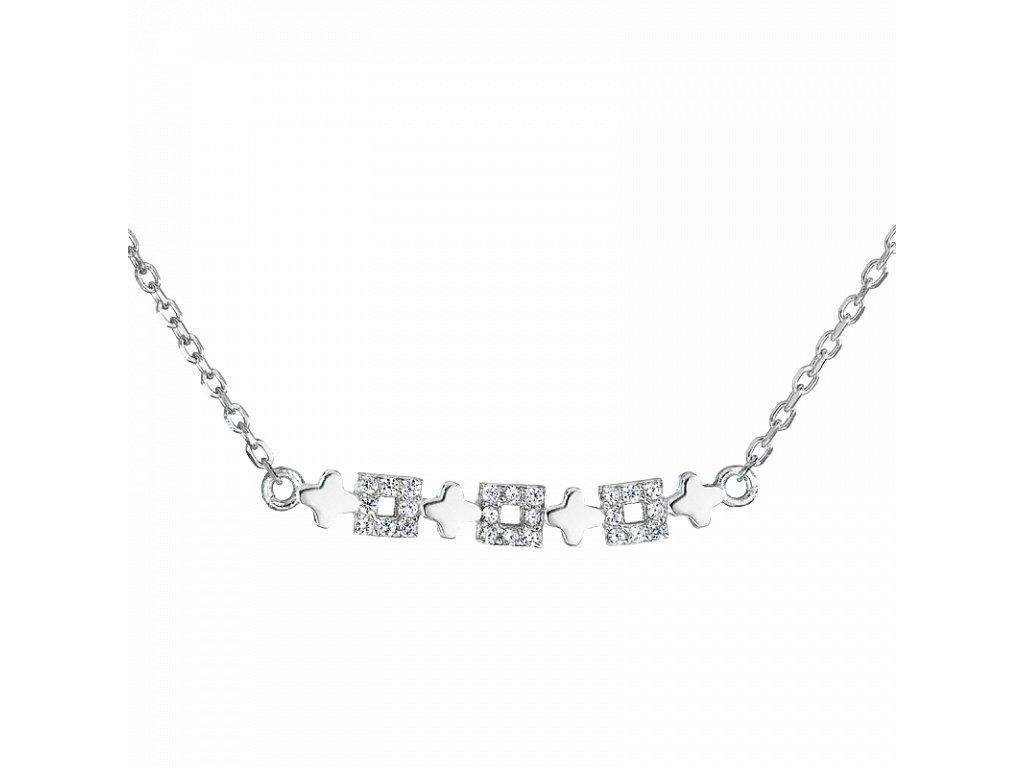 Stříbrný náhrdelník – Květinová inspirace