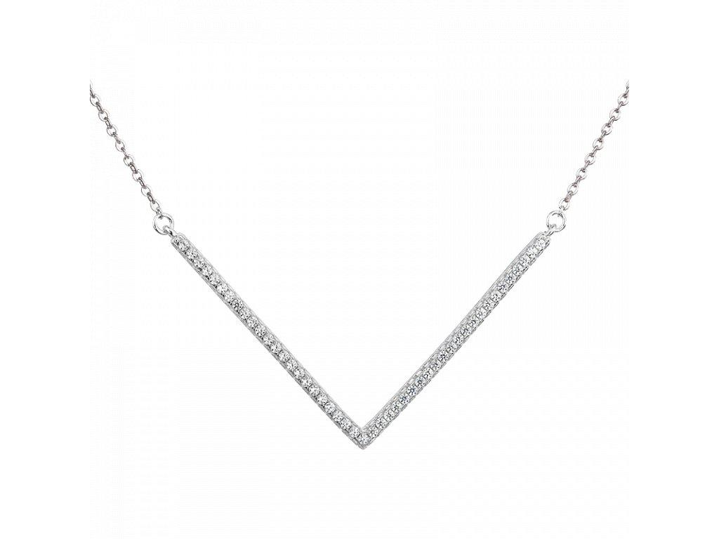 Stříbrný náhrdelník Victory