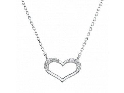 Stříbrný náhrdelník – Symbol lásky