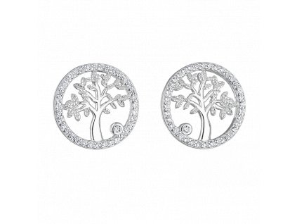 Stříbrné náušnice – Strom života