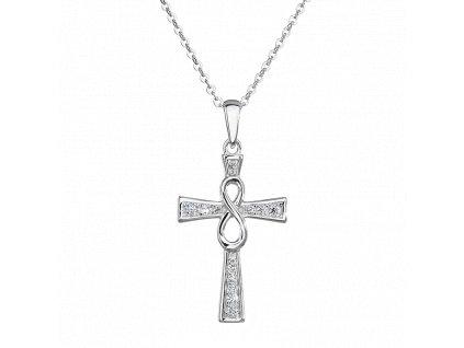Stříbrný přívěsek Věčná víra