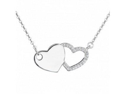 Stříbrný náhrdelník Souznění