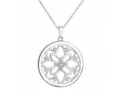 Stříbrný přívěsek Mandala