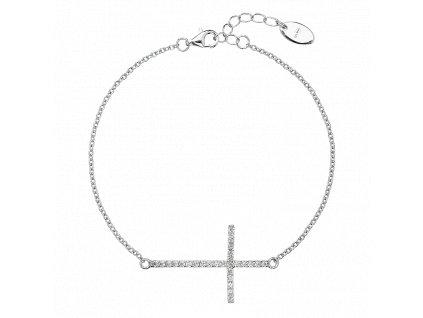 Stříbrný náramek Symbol života