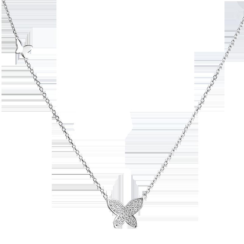 Šperky pro tebe Stříbrný náhrdelník – Motýlí harmonie 1e80f5fee71