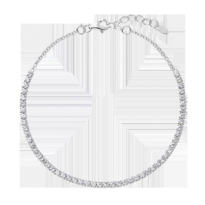 Šperky pro tebe Stříbrný tenisový náramek Brilliance BRF0062C