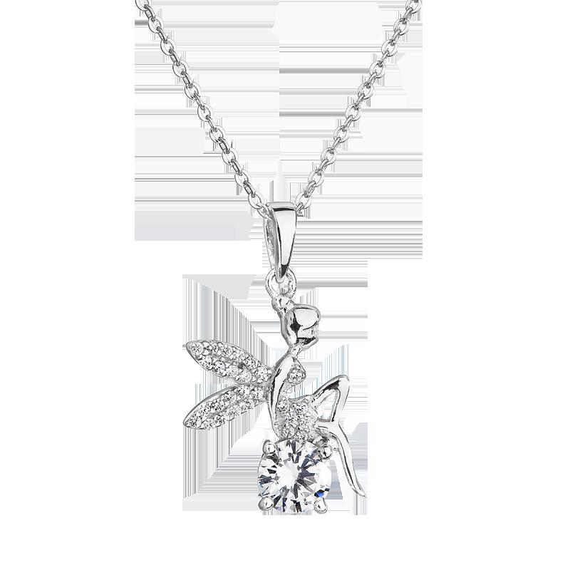 Šperky pro tebe Stříbrný přívěsek – Andělská víla SP04255A