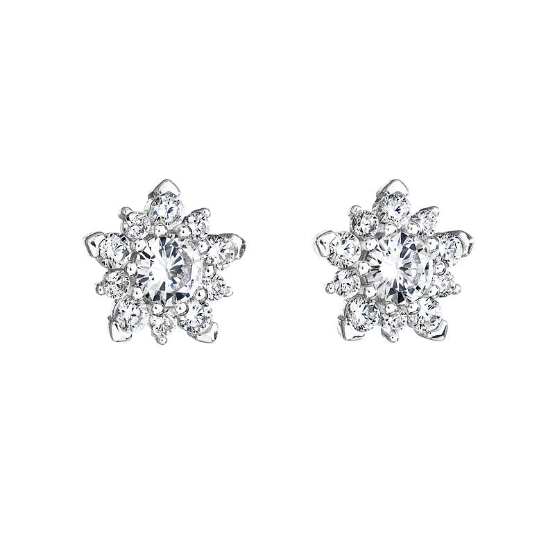 38cb5c429 Šperky pro tebe Stříbrné náušnice – Hvězda SE05646A