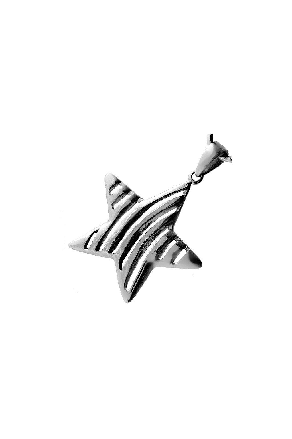 Skalimar Přívěsek z chirurgické oceli HVĚZDA 213355