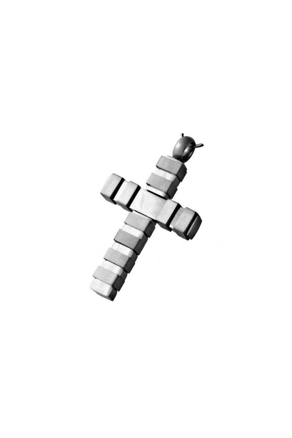 Skalimar Přívěsek z chirurgické oceli KŘÍŽ MEN 213469