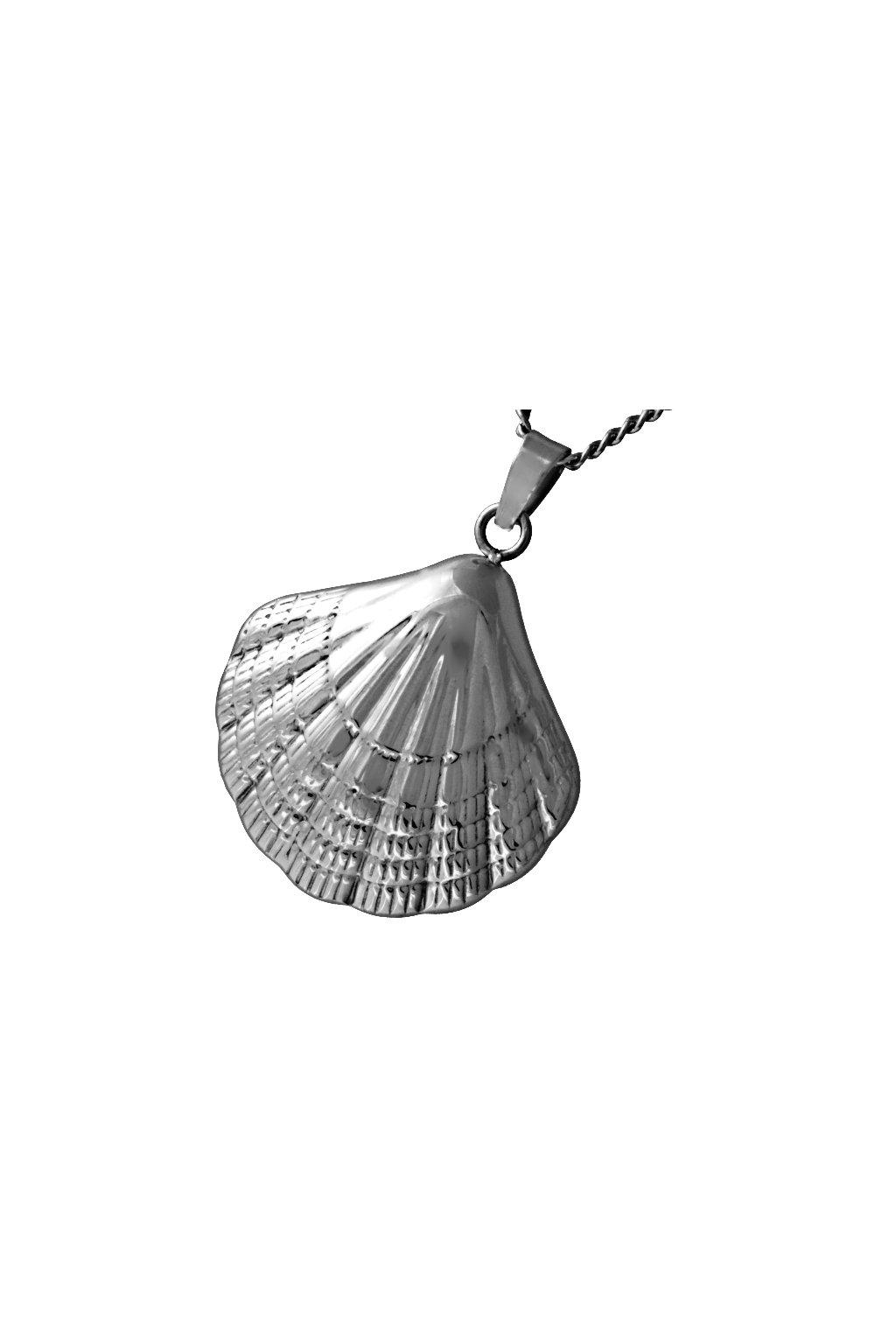 Skalimar Přívěsek z chirurgické oceli MUŠLE 313726
