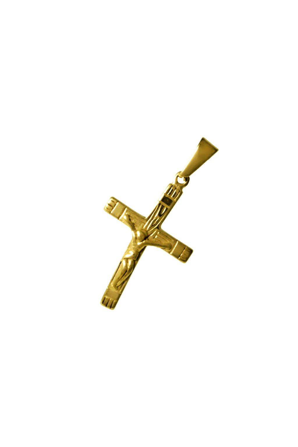 Skalimar Přívěsek z chirurgické oceli KŘÍŽ 313860/2