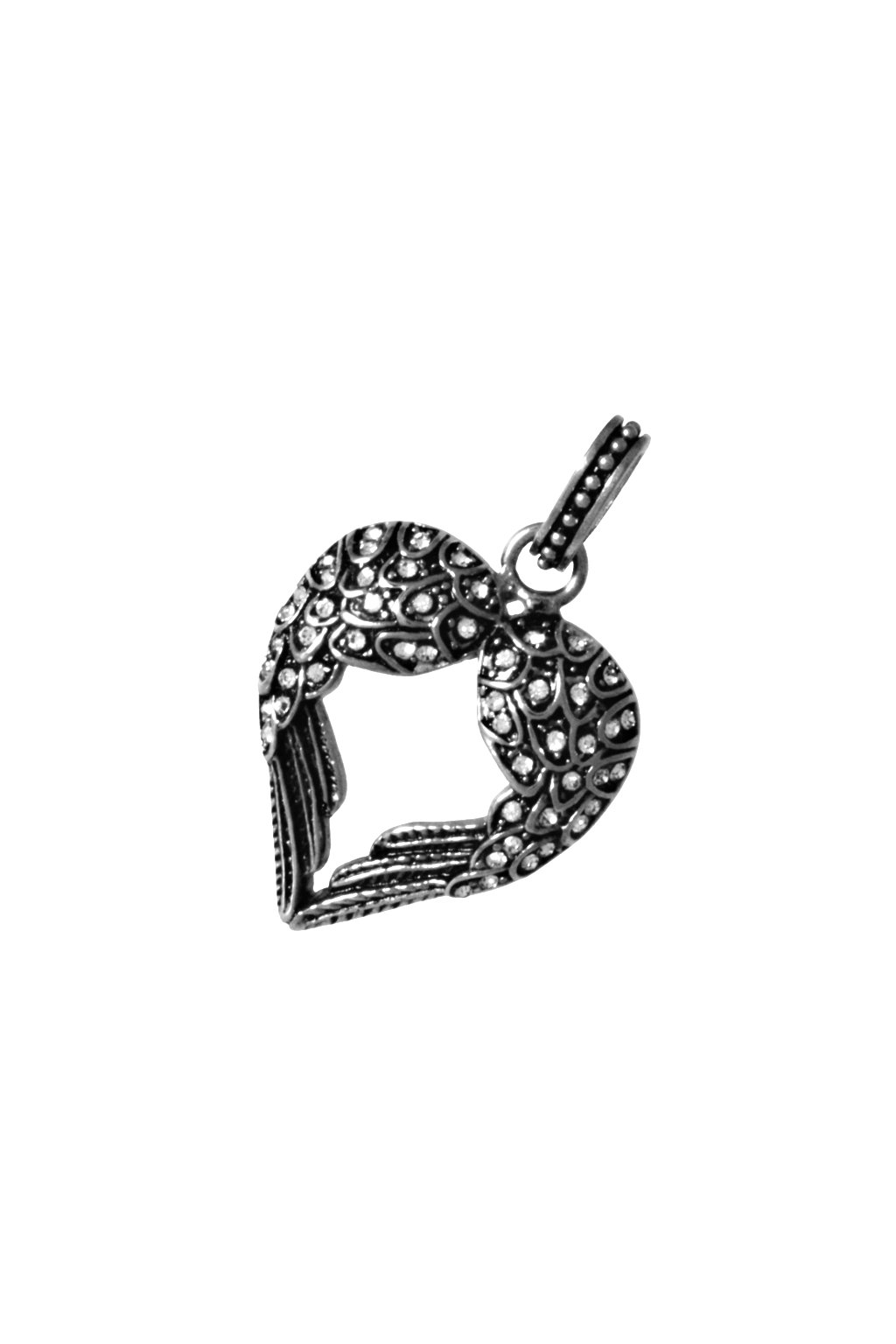 Skalimar Přívěsek z chirurgické oceli SRDCE GHOTIC 313868/2