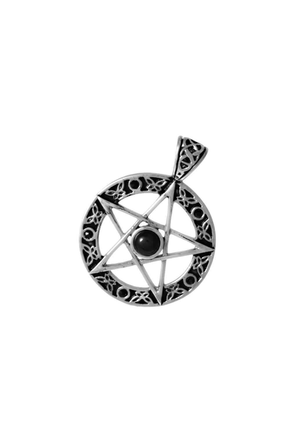 Skalimar Přívěsek z chirurgické oceli PENTAGRAM 313943