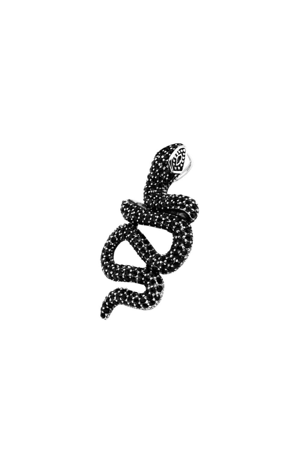 Skalimar Přívěsek z chirurgické oceli BLACK DIAMOND GHOTIC 360020041