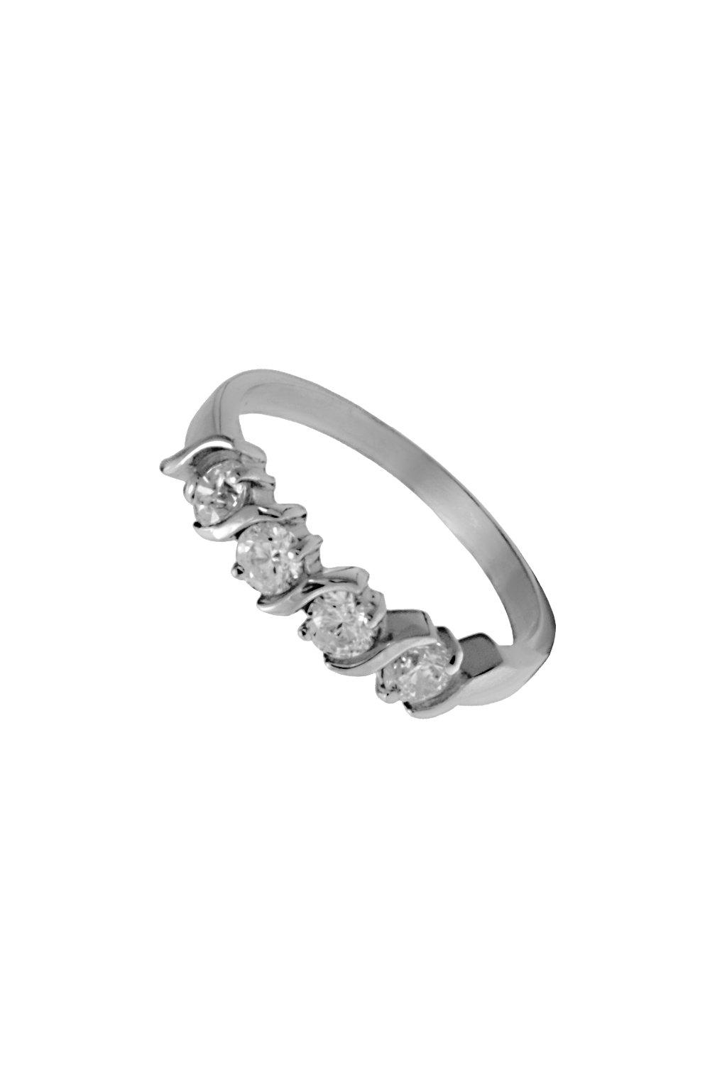Skalimar Prsten z chirurgické oceli KRYSTALY 312402