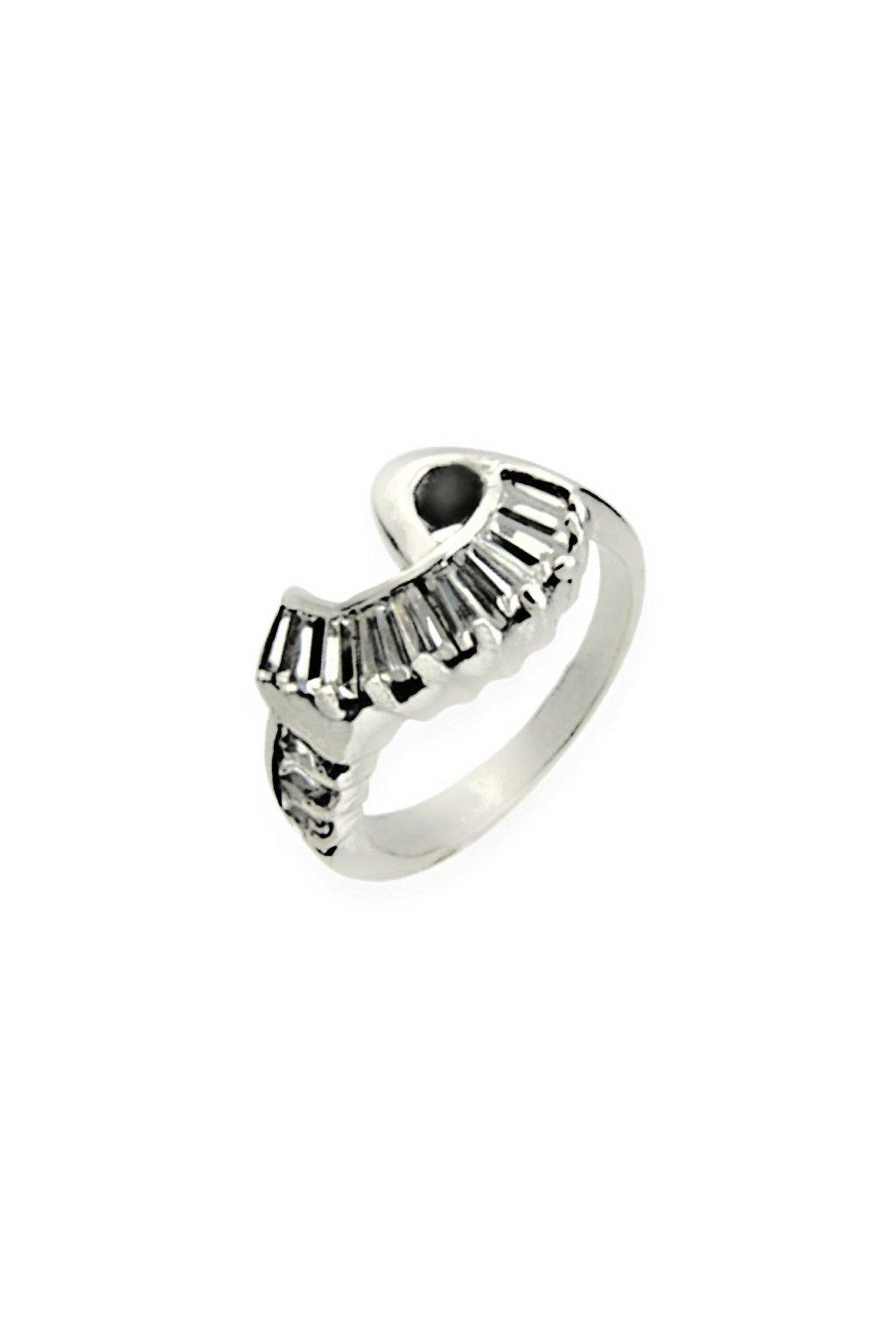 Skalimar Prsten z chirurgické oceli LUXUSNÍ ŠPERK S KŘIŠŤÁLY 312453