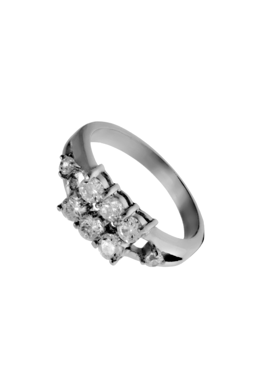 Skalimar Prsten z chirurgické oceli S KŘIŠŤÁLKY 312547