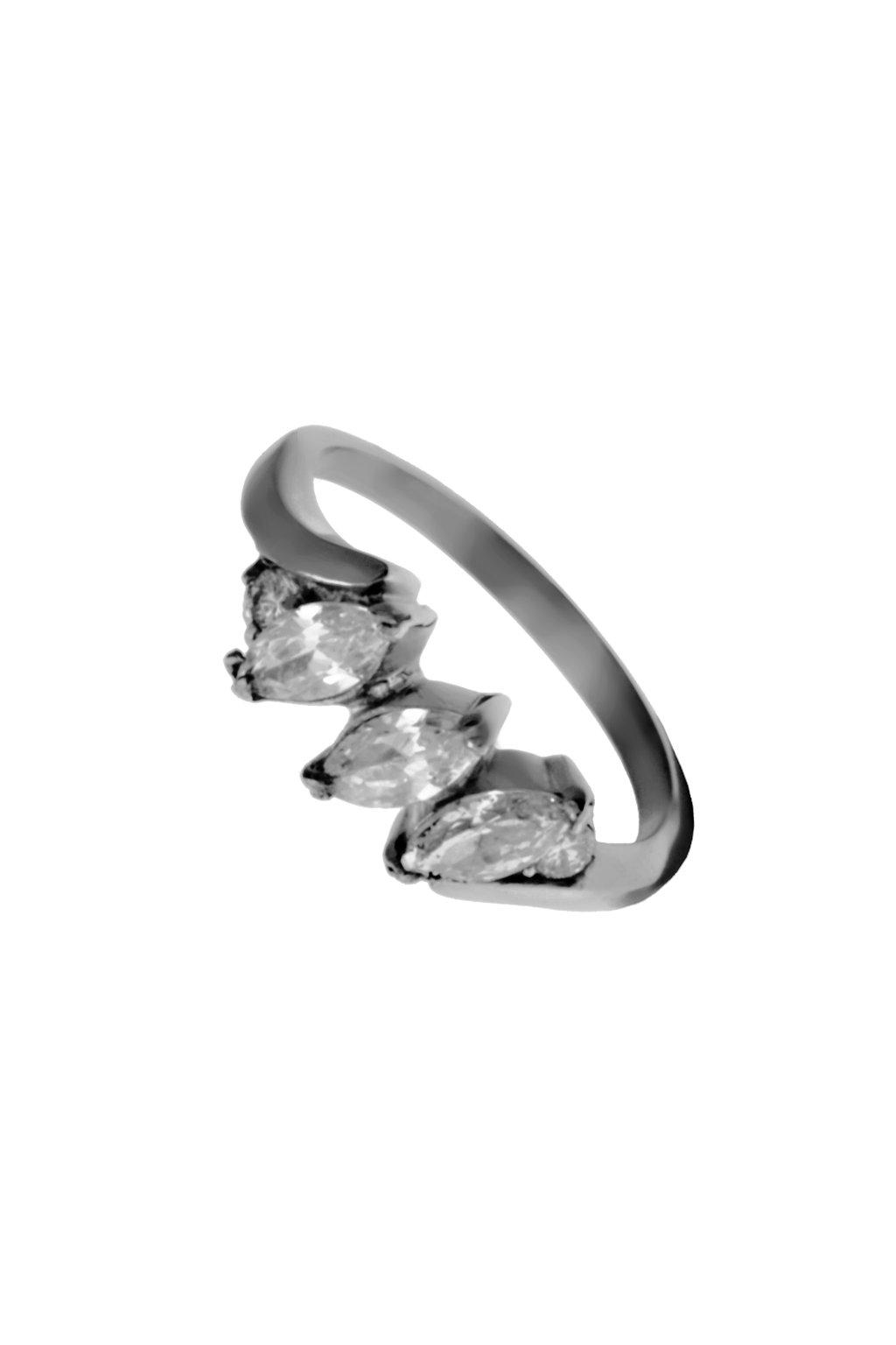 Skalimar Prsten z chirurgické oceli CLASSIC III. 312553