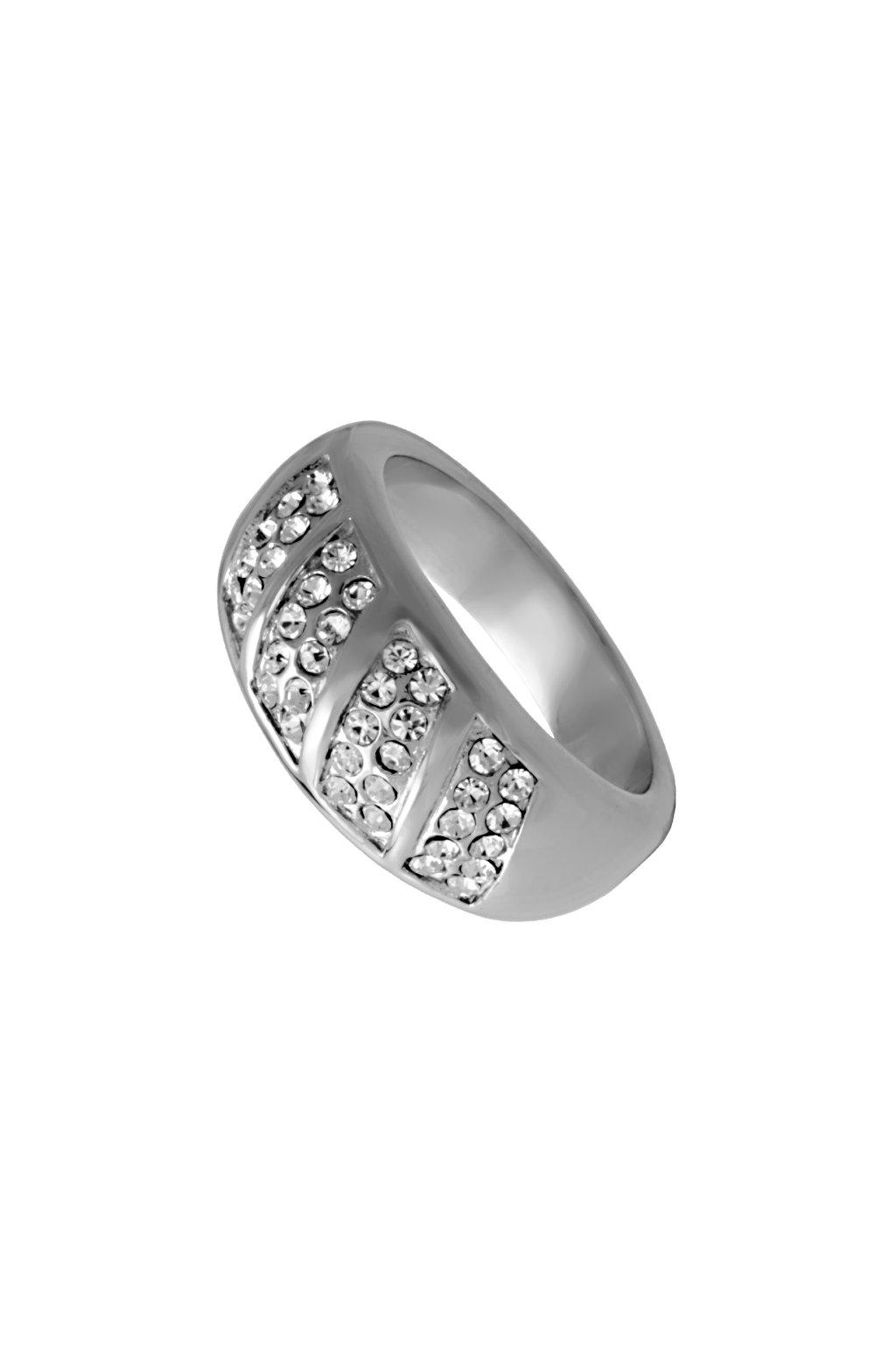 Skalimar Prsten z chirurgické oceli LUXURY DESIGN 312574