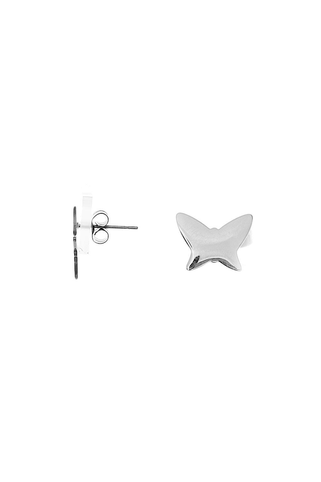 Skalimar Náušnice z chirurgické oceli MOTÝLCI 614030/4