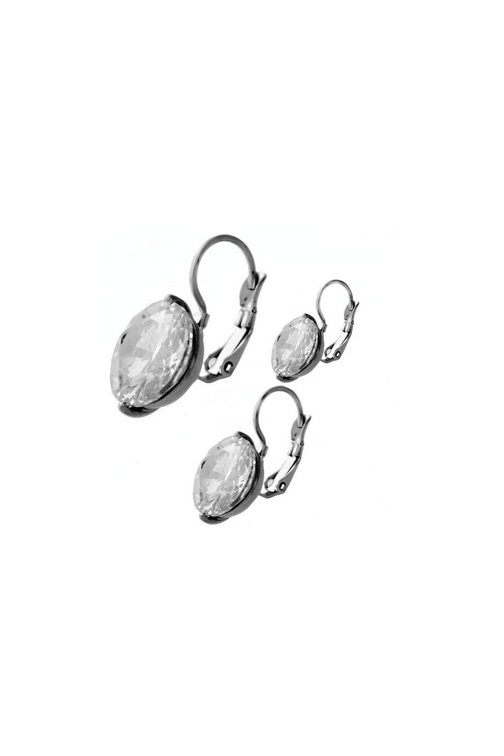 Skalimar Náušnice z chirurgické oceli DAIMOND 314480