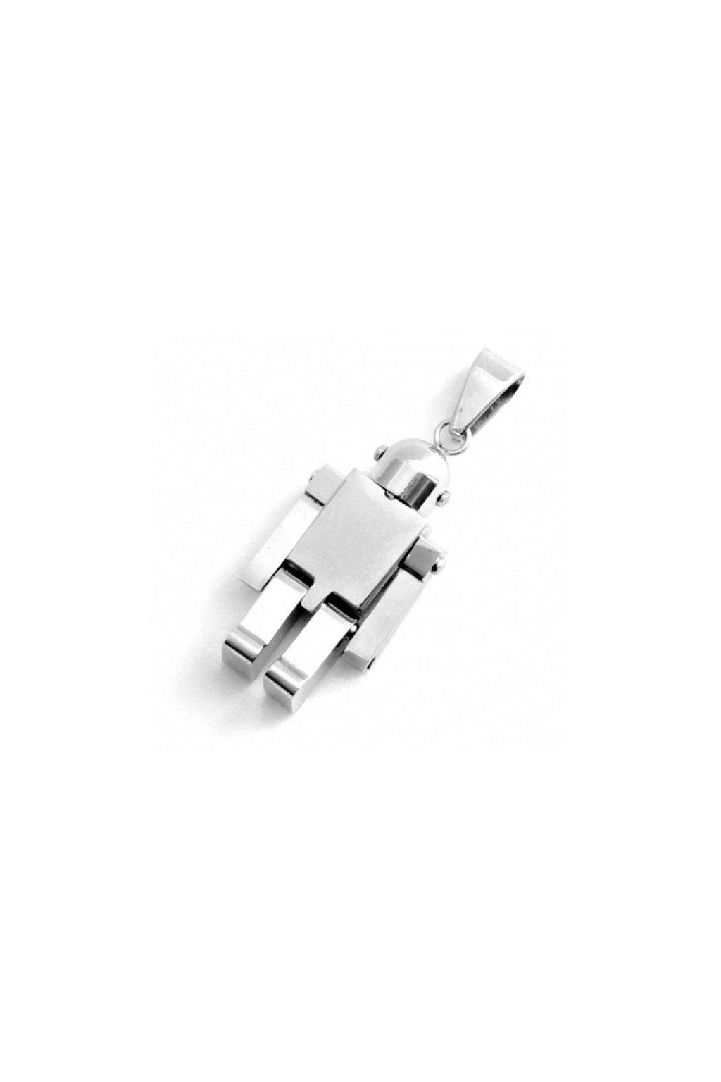 Skalimar Přívěsek z chirurgické oceli ROBOT 213200