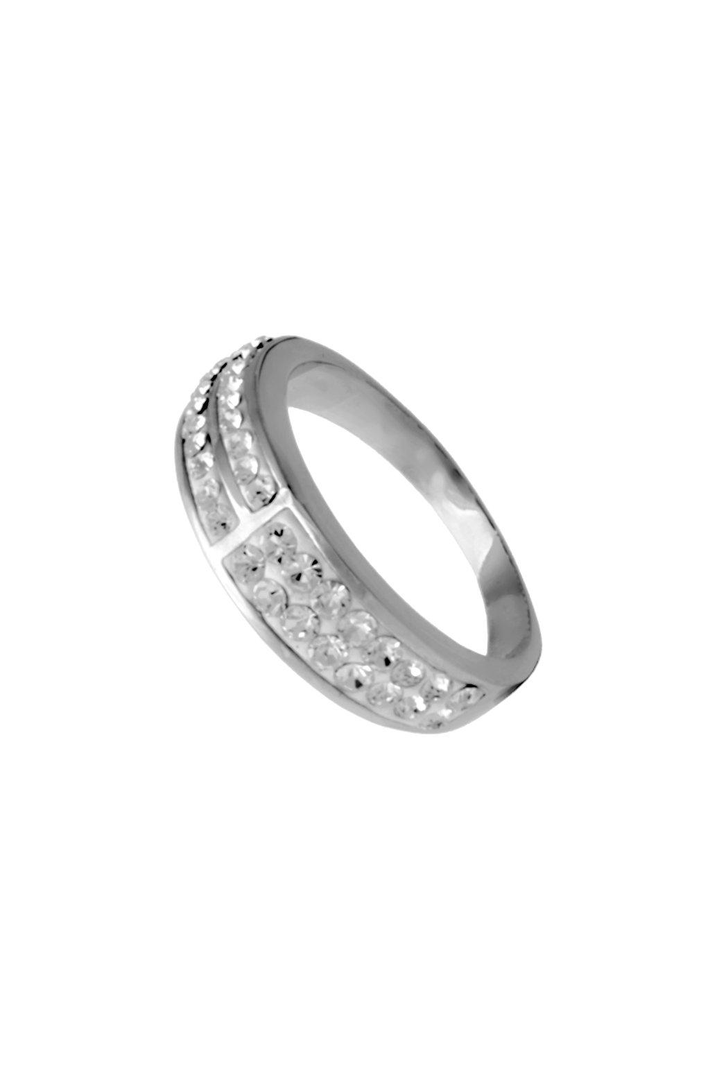 Skalimar Prsten z chirurgické oceli KŘIŠŤÁLKY 312300